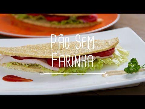 Pão de micro-ondas sem farinha - Lucilia Diniz