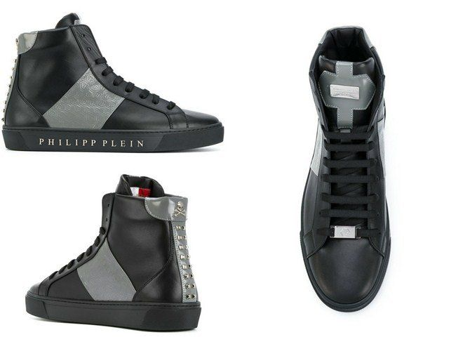 Pin on High-top Sneakers