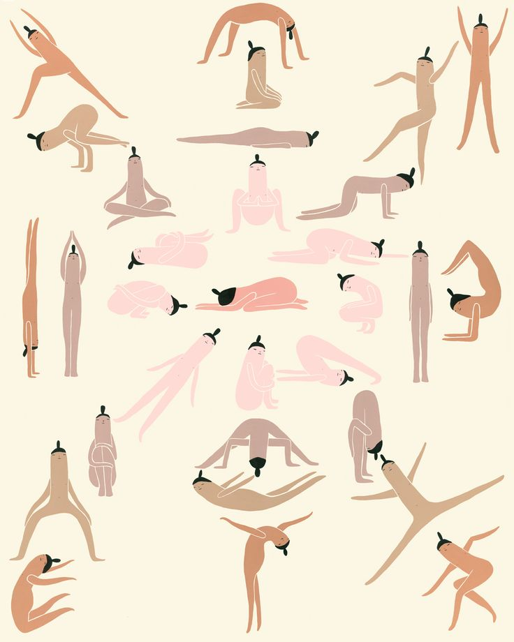 Best 25+ Yoga illustration ideas on Pinterest | Yoga art, Yoga ...