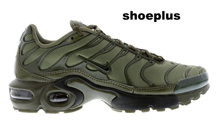 """Nike Air Max Plus Tuned 1 Tn """"Olive Green"""" Unisex Trainer Limited Edition"""