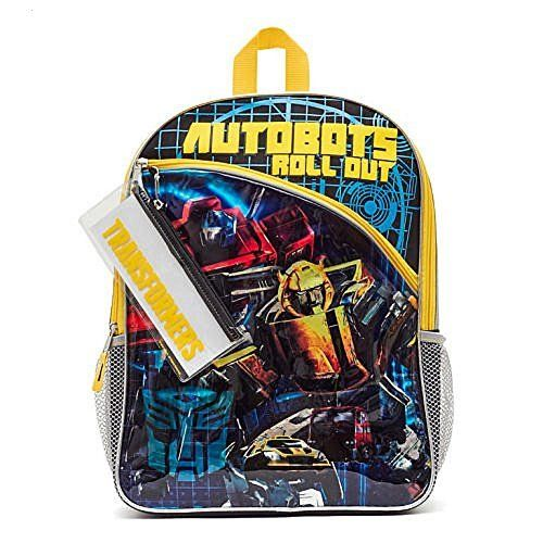 Transformers 'Autobots Roll Out' Backpack with Pencil Pouch (16'x12'x5'). #Transformers #'Autobots #Roll #Out' #Backpack #with #Pencil #Pouch #('x'x')