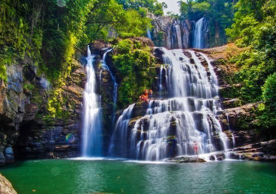 Puntarenas Costa Rica Waterfalls | Dominical, Costa Rica: Waterfall, big waterfall, and jumping