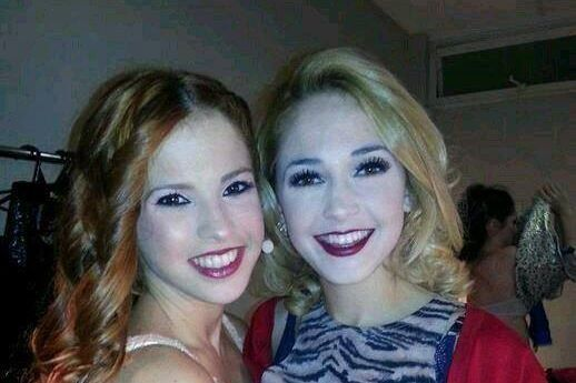 Cande & Mechi    #ViolettaLIVE