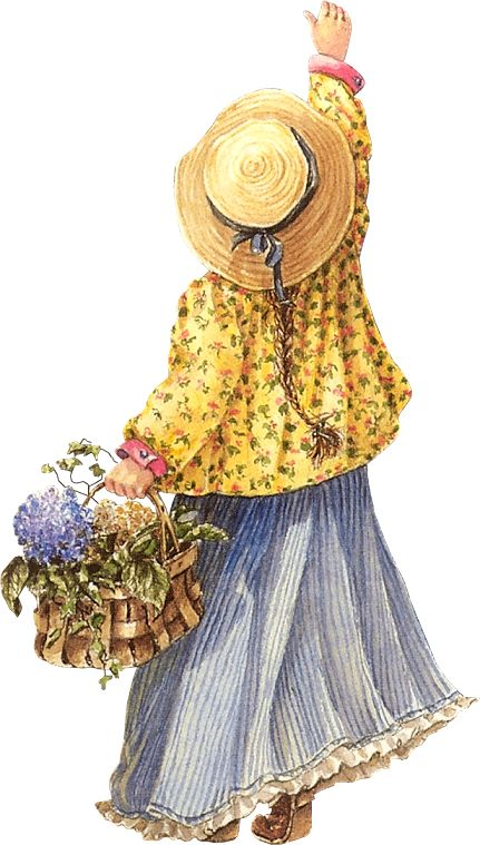 Flower Basket Girl