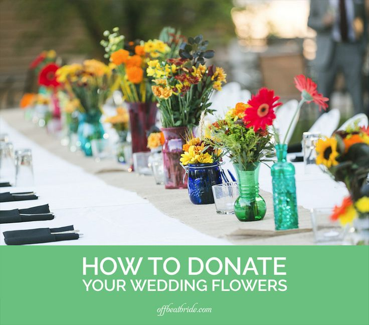 Popular How to donate your wedding flowers