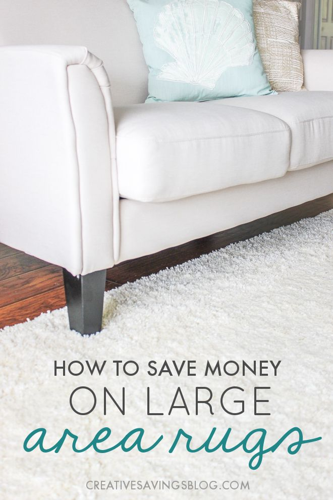 Wow! I've been looking for an 8x10 area rug for my living room, and never imagined you could save this much money on them. Now thanks to these genius money saving hacks, I know exactly what to do with that too-small rug I bought months ago!
