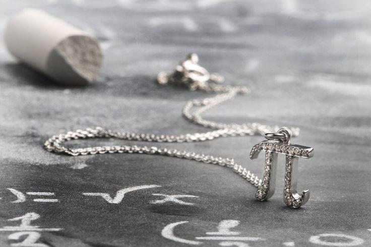 Diamanti oro K18 con garanzia, per donna o uomo ciondolo Pi di fattoamanou su Etsy