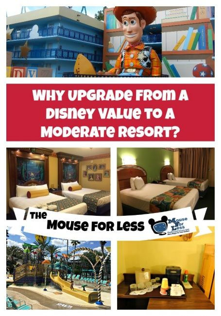 Why upgrade from a value resort to a moderate resort at Walt Disney World? Tips, as well as costs and benefits to consider for this vacation decision.