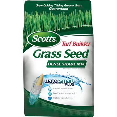 Scotts Turf Builder Dense Shade Grass Seed Mix, 3-Lbs., Covers 750 Sq. Ft.: Model# 18348 | True Value