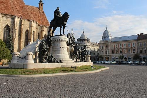 Piața Unirii - Cluj-Napoca, Jud. Cluj, Romania