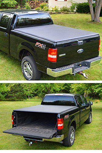 Premium TriFold Tonneau Truck Bed Cover For 04-08 Ford F-150...