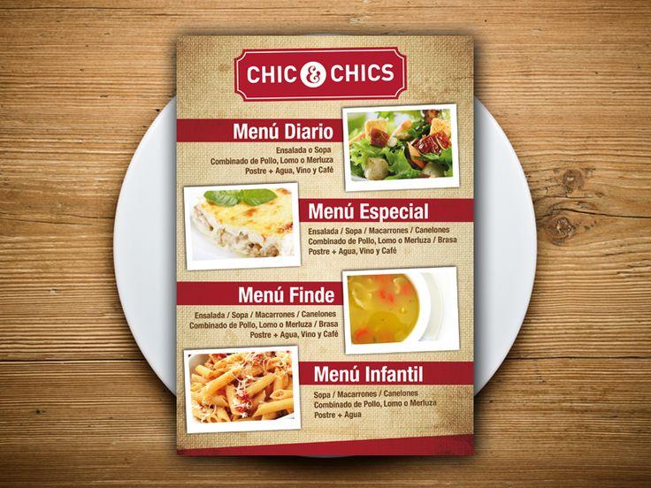 12 best restauracion - cartas de menu para restaurantes images on