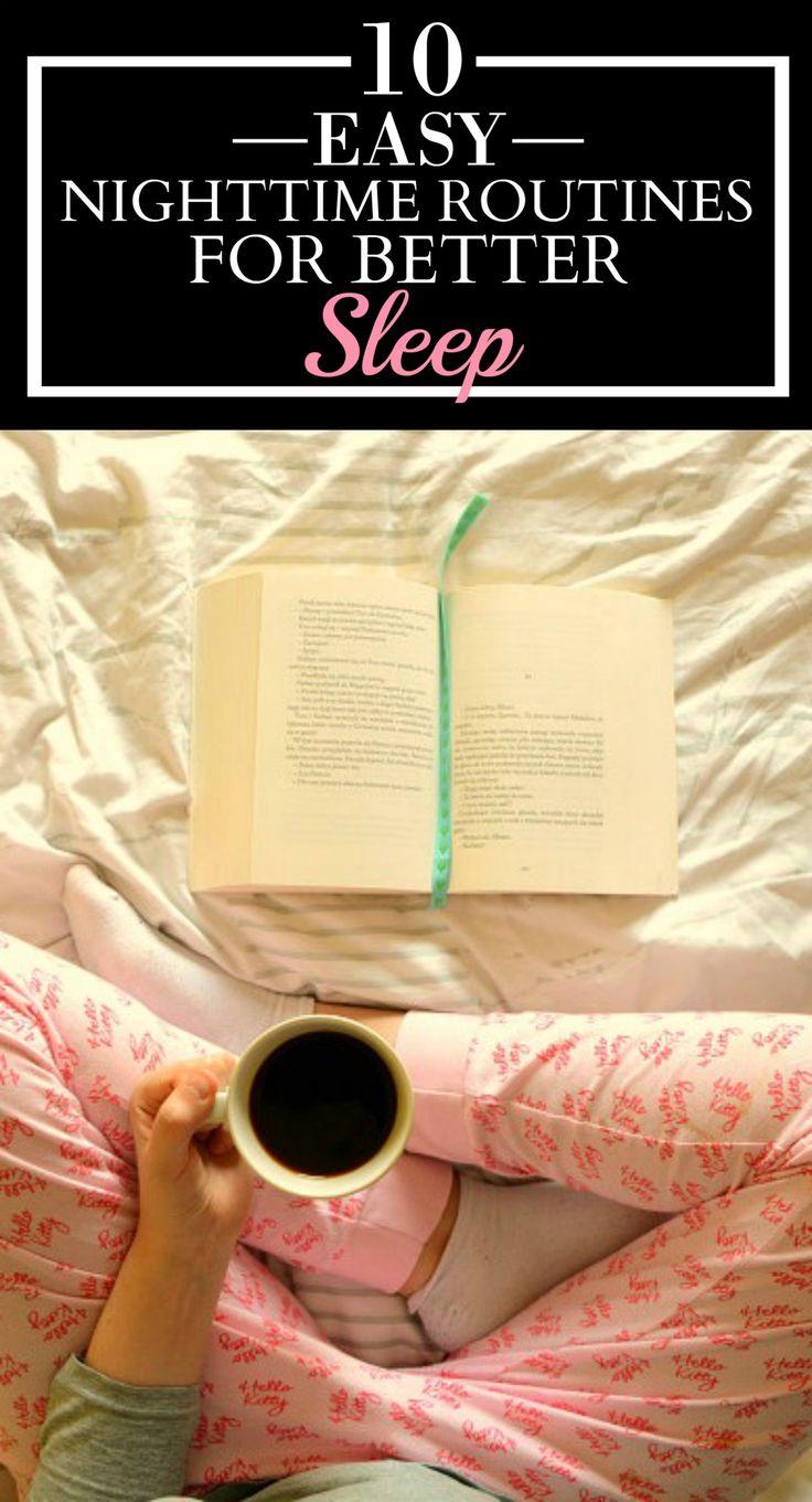 Best 25 falling asleep ideas on pinterest help falling asleep 10 easy nighttime routines for better sleep ccuart Gallery