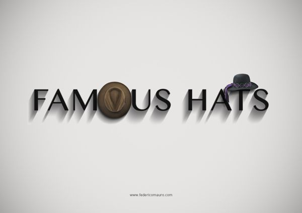 Famous Hats by Federico Mauro