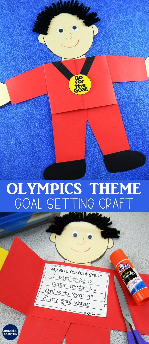 Have your first, second, and third graders set new learning goals for a new year! This fun summer and winter Olympics themed writing craft for kids is ideal as a back to school or January activity and makes a great bulletin board. Templates included for students in Kindergarten, 1st, 2nd, 3rd, 4th, and 5th grade plus Prep Year-Year 5.