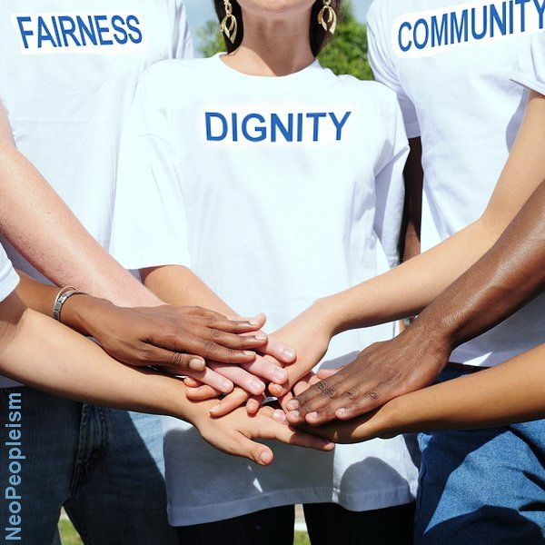 Fairness, dignity and community are things we all want to have, and can share. Let's find ways to show that today.