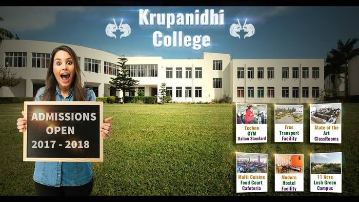 """#AdmissionsOpen2017 #KrupanidhiCollege #JoinUs """"Admissions open for the year 2017, visit our website for more information on courses, student exchange programmes or study abroad options."""" For more details visit : www.krupanidhi.edu.in #BestPrivateinstituteinAsia #BestUpcomingBSchool #TopPharmacyCollegeinBangalore For admissions : admissions@krupanidhi.edu.in #KrupanidhiGroupofInstitution"""