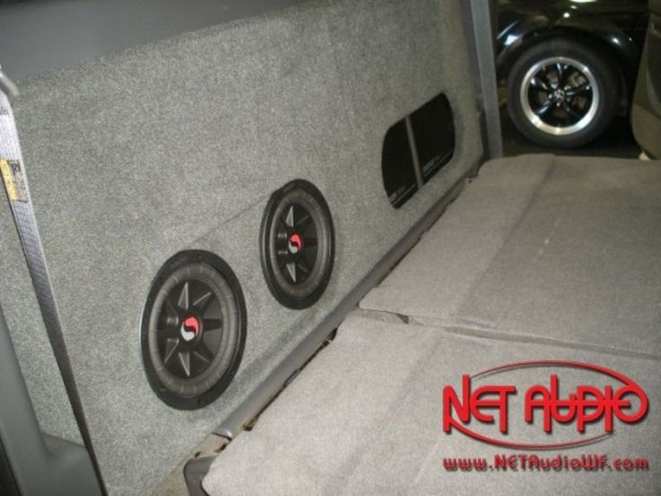 NET Audio, home for the best in installation and car stereo Wichita Falls. As your experts in installation and fabrication and a custom subwoofer box for