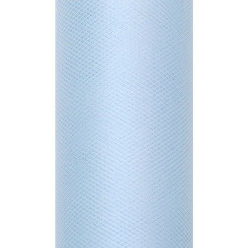 Tiul dekoracyjny 8 cm x 20 m błękit 011