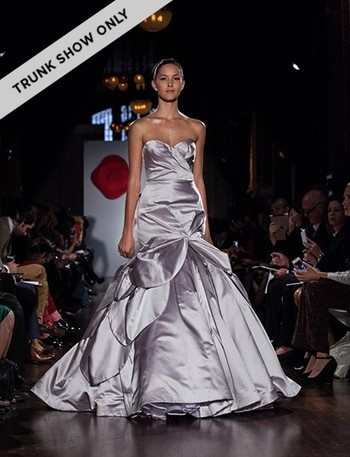 Bridal Gowns: Austin Scarlett Mermaid Wedding Dress with Sweetheart Neckline and Asymmetric Waist Waistline