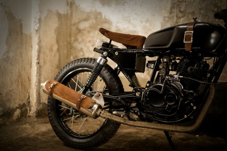 #leather #exhaust #motorcycle #bombay #custom #works