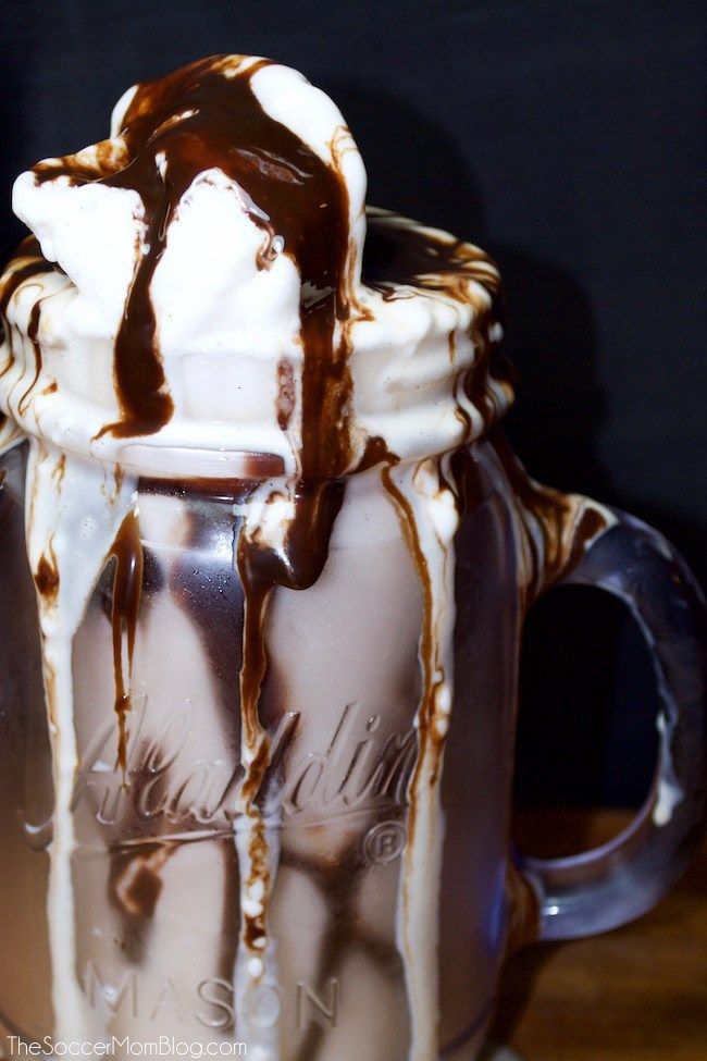 All it takes is one sip of this rich, thick, creamy, chocolatey goodness and you'll get it. This is THE best chocolate mudslide recipe ever.