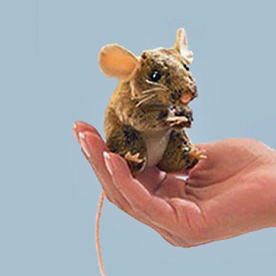 Field Mouse Finger Puppet | Therapize | Pinterest | Finger ...