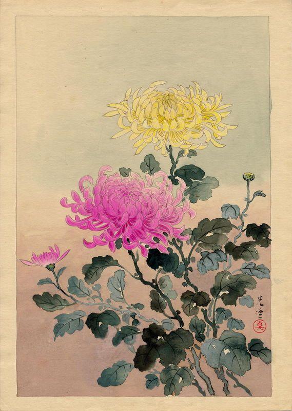 Japanese art Koitsu, Tsuchiya (1870-1949) [Tsuchiya Koitsu] 土屋光逸 1930s Watercolour