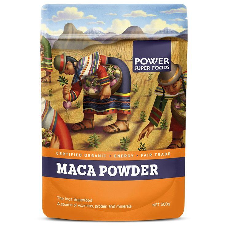 Maca Powder #glutenfree #organic #raw #vegan #superfood