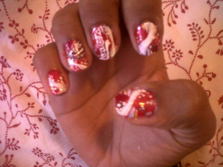 115 best coca cola nails images on pinterest beauty nails coca cola nails prinsesfo Gallery