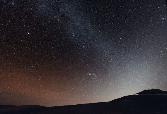 The Atacama Desert, Chile. The night sky is full of stars, the only place on earth with skies so clear you can literally see the Milky Way - absolutely beautiful