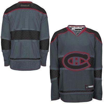 Mens Montreal Canadiens Reebok Storm Cross Check Premier Jersey
