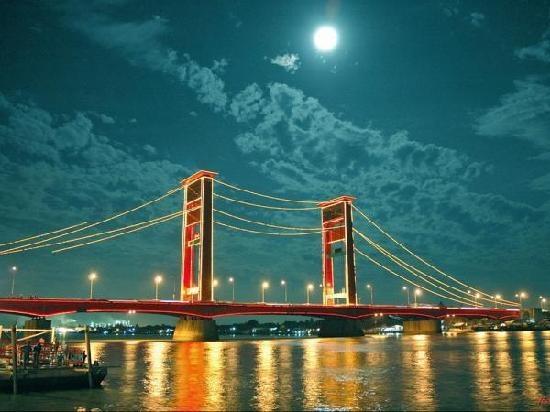 Provinsi Sumatera Selatan Jembatan Ampera , sumatera selatan #Indonesia