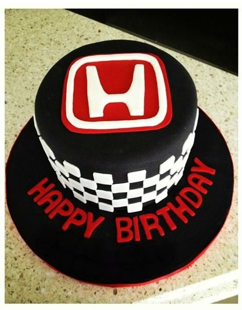 Happy Birthday Honda Cake
