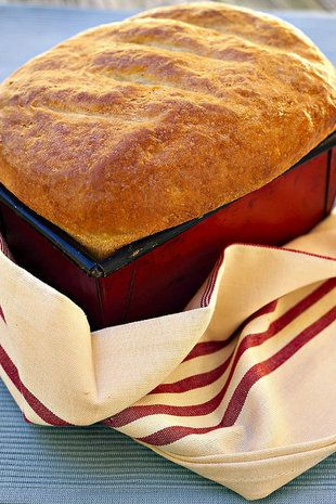 Tuisgebakte witbrood    SARIE   Bake your own bread #diy
