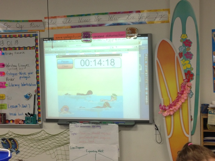 Online classroom timer I use in class for focused time!