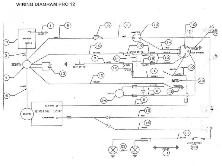 Tecumseh Small Engine Wiring Diagram \u2013 Efcaviation