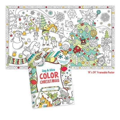 color christmas with me personalized coloring book - Personalized Coloring Book