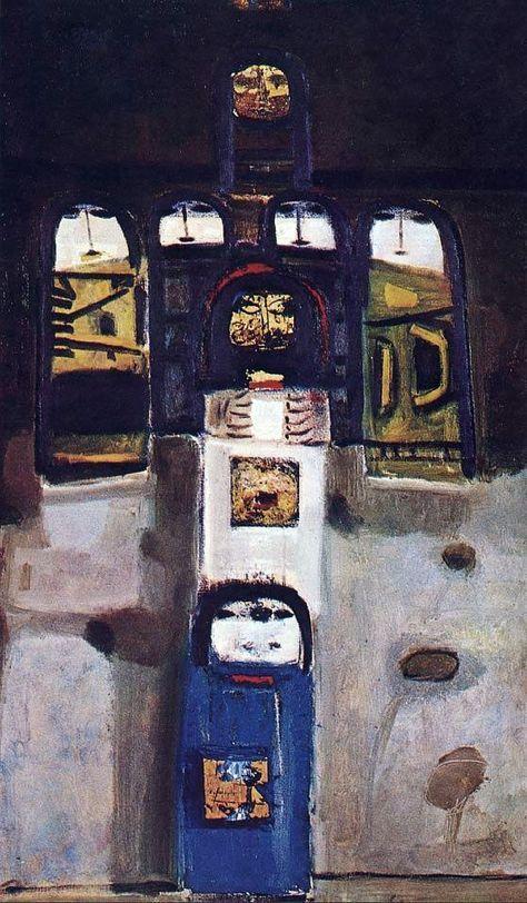 Syria Art - Fateh al-Moudarres (1922—1999)