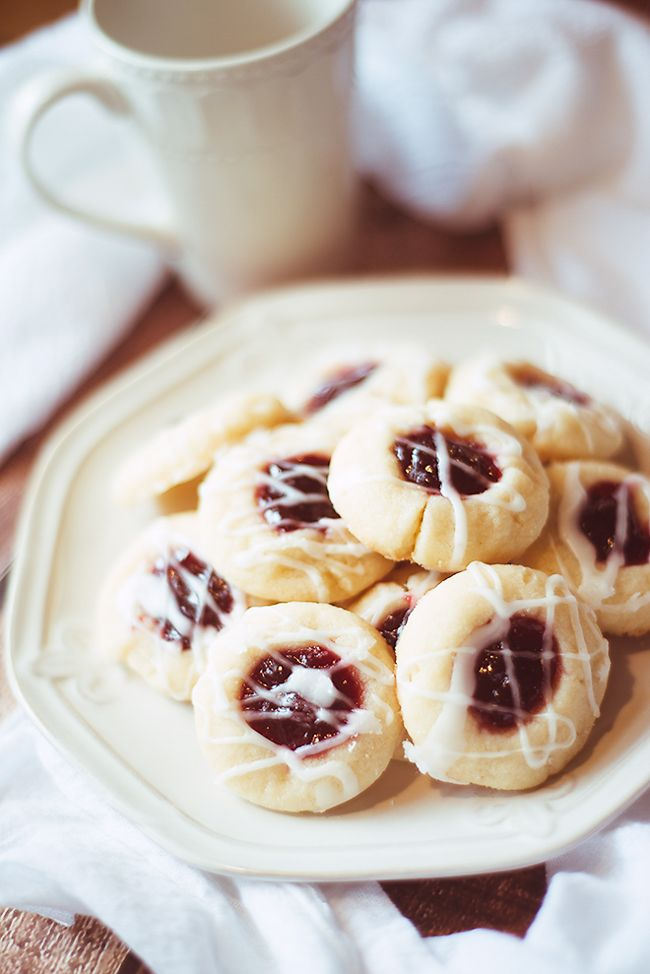 These raspberry almond shortbread cookies are my all-time favorite holiday cookies. These delicate cookies simply melt in your mouth!
