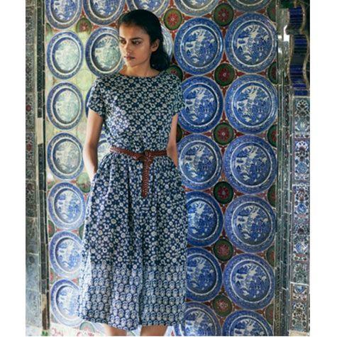 Ajrakh Print Dress