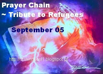 ShiningSoul: Prayer Chain ~ Tribute to Refugees http://shiningsoul1.blogspot.pt/