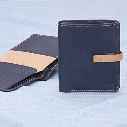 Bellroy Pocket Book Wallet Blue - hardtofind. $120.00 #hardtofind #dad #father #gift #blue #navy