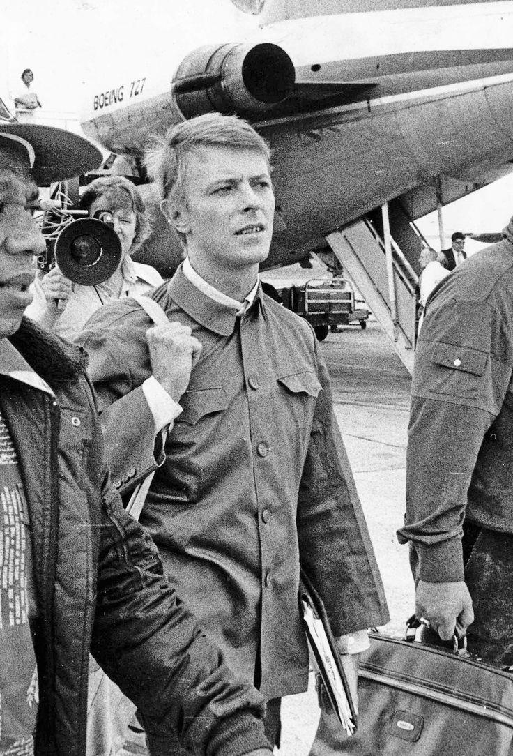 David Bowie in Brisbane 1979.