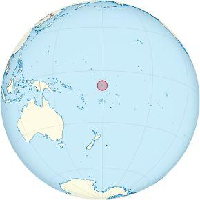 Amplasarea Tuvalului