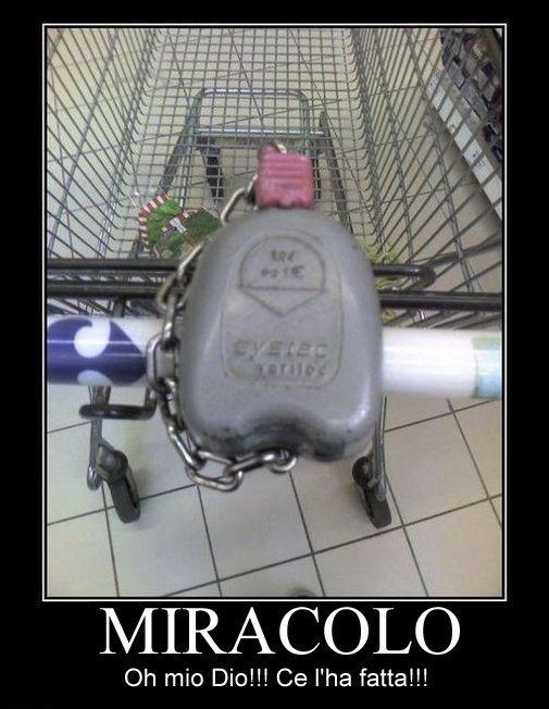 MIRACOLO: IL #CARRELLO DELLA SPESA… http://www.ilpeggiodellarete.it/miracolo-il-carrello-della-spesa/ #curiosità #umorismo