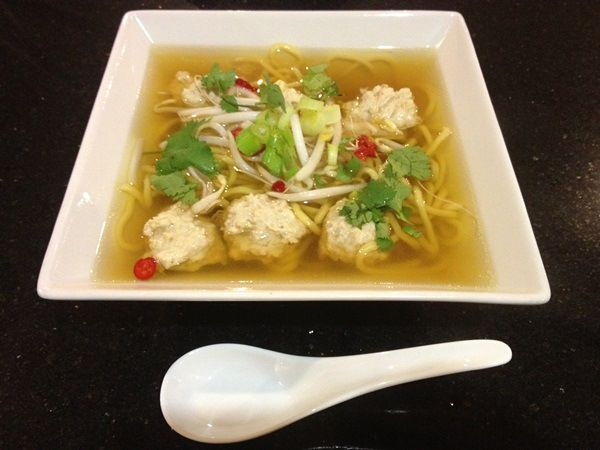 Indonesian Meatball Soup (CWA recipe)