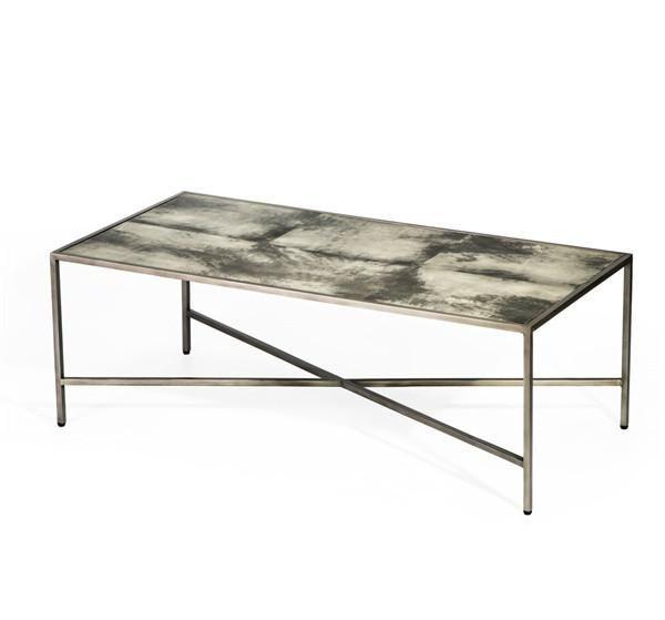 Dorian Vellum Cocktail Table