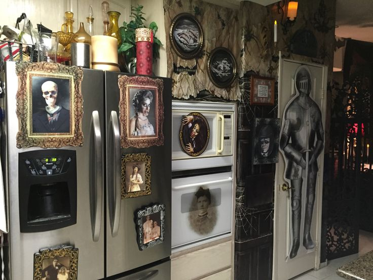 Haunted Kitchen Cabinet