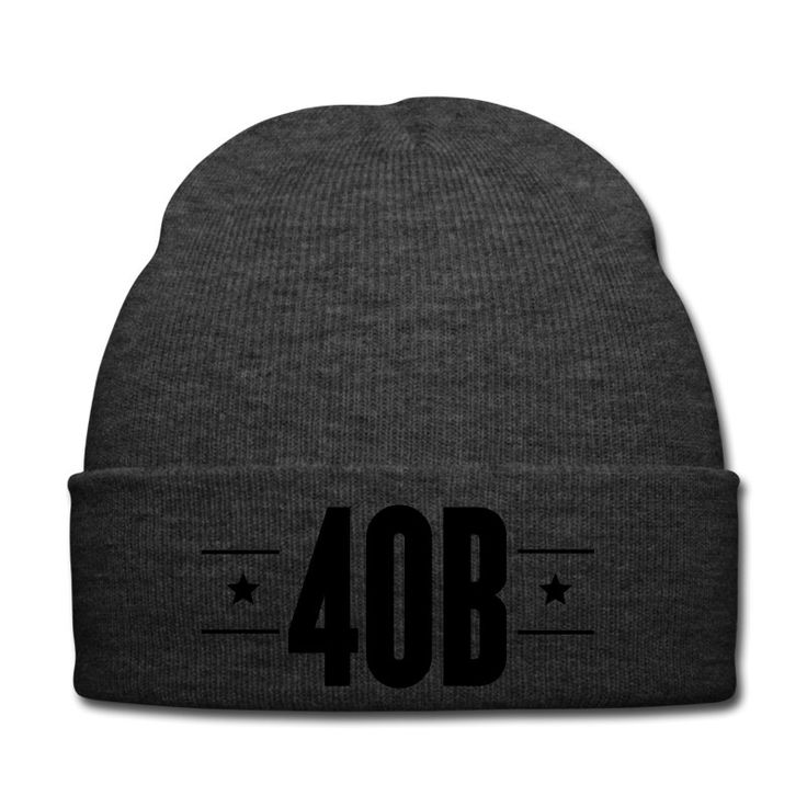 Offical 40 Burger Strickmütze // Finest Football & Fashion. #americanfootball #football #40burger #40b #nfl #rannfl #knitcap #cap #strickmuetze #muetze #streetwear